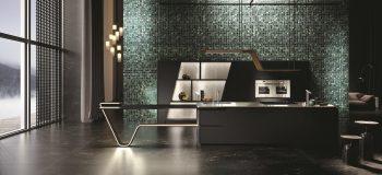 Cucine-con-isola-Snaidero-Vision-nera-foto-1